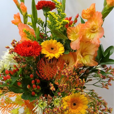 Autumn Blaze Handtied Bouquet
