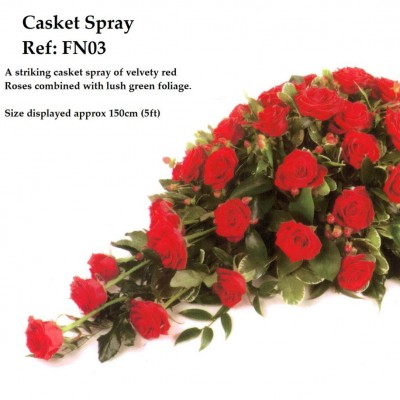 Casket Spray Ref:FN03